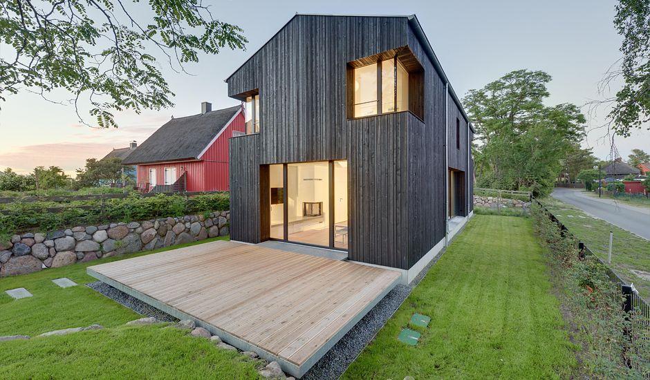 Haus wieckin retreat pinterest haus schmales haus - Schmales haus bauen ...