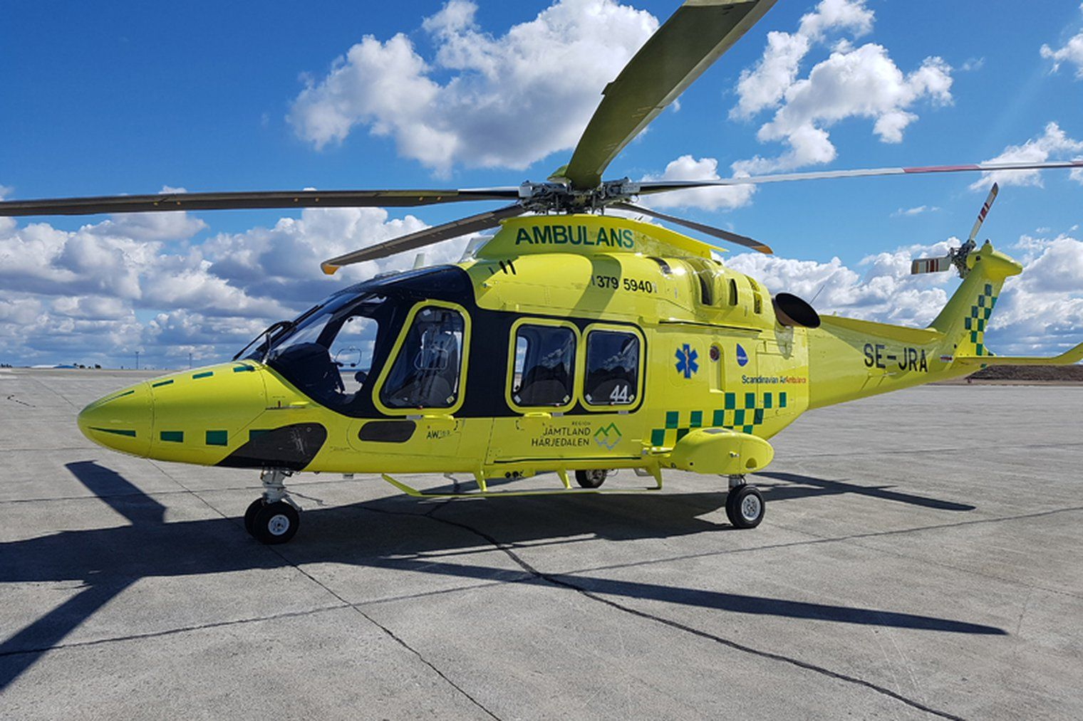 Babcock Saa Receives Air Ambulance Contract Shephard Media Ambulance Military Helicopter Defence