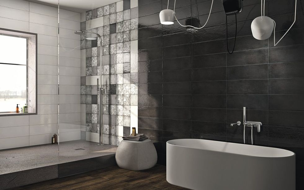 Maiolica Grigio | Floor and Wall Tiles - Iris Ceramica