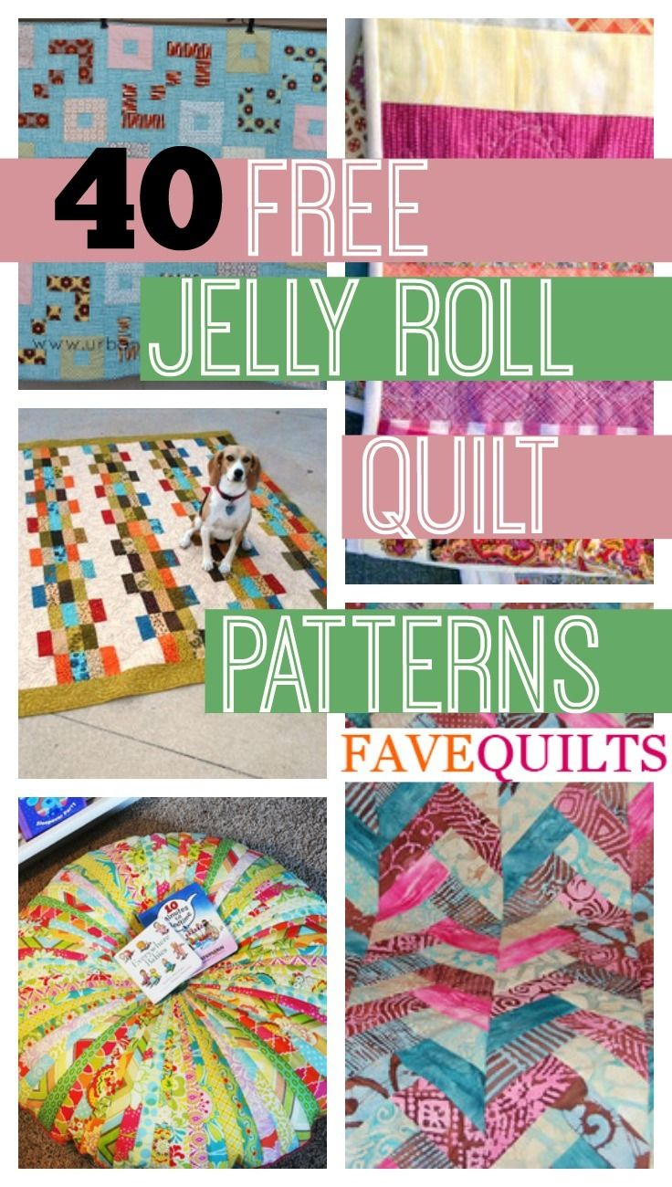 45 Free Jelly Roll Quilt Patterns Jelly Roll Quilt