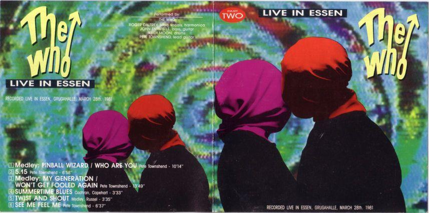 Live in Essen Part 2 Essen, Germany March 28, 1981 soundboard