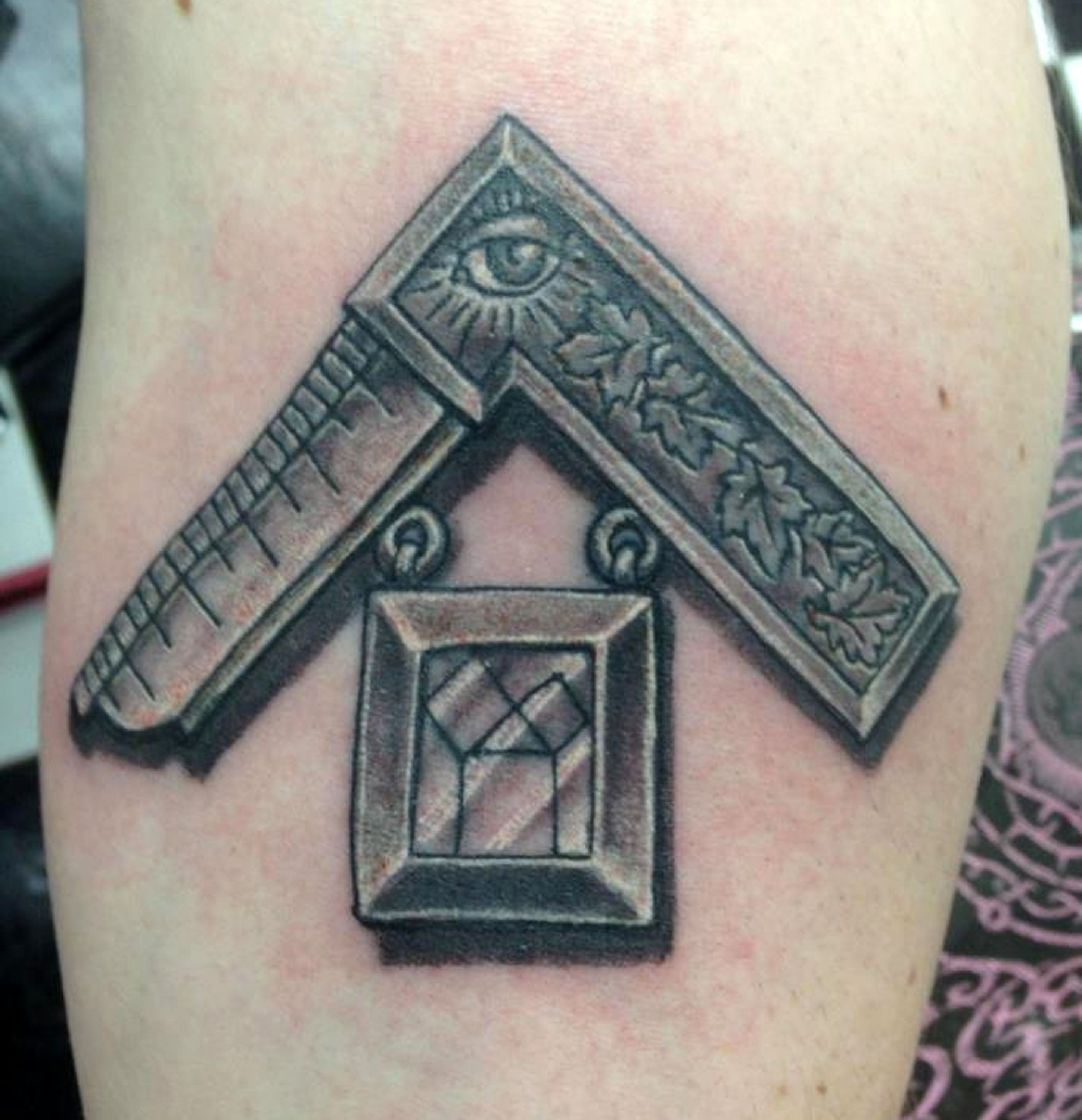 Canadian past master by fish whole addiction tattoo for Coral springs tattoo