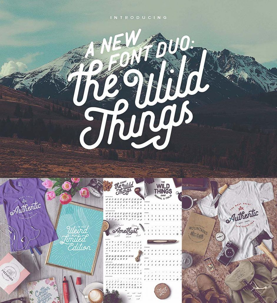 The Wild Things Cgispread New Fonts Free Fonts Download Free Font