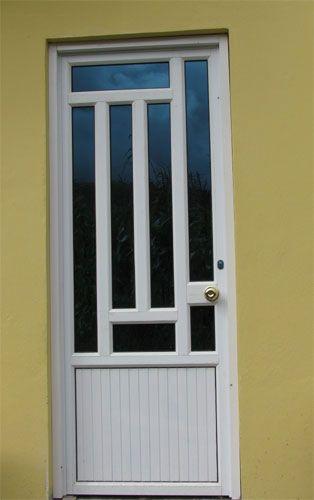 Resultado de imagen de modelos de puertas metalicas con - Modelos de puertas de aluminio ...