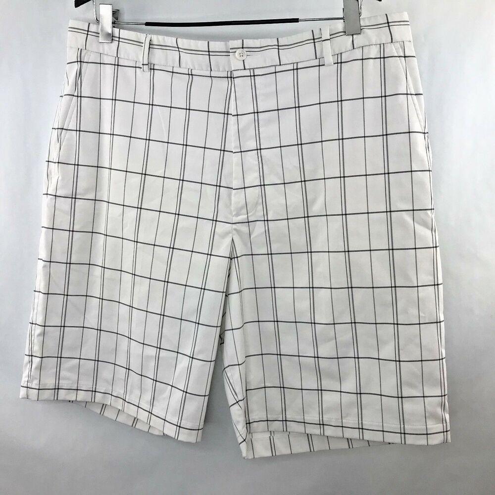 64a51df2b9ba4 (eBay Sponsored) Slazenger Mens Golf Shorts Stretch Size 40 Embroidered  Plaid