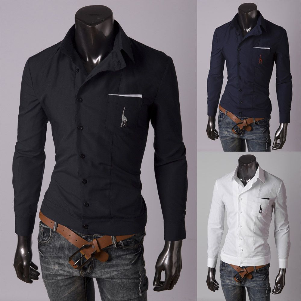 Shirt jacket design - Side Button Serengeti Dress Shirt