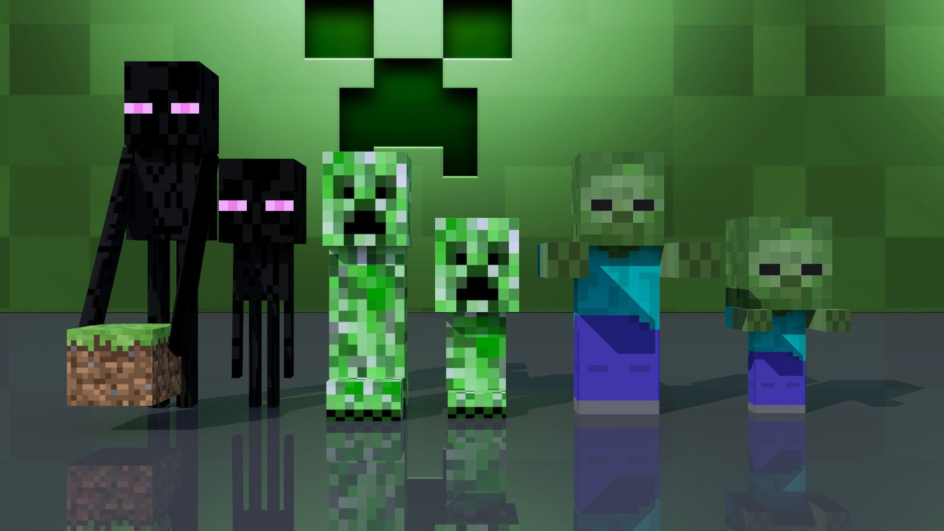 Minecraft endermen rule sexy babes naked wallpaper-6275