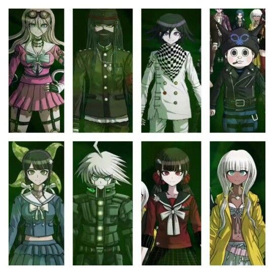 Danganronpa 3 Anime Characters : More danganronpa v characters pinterest