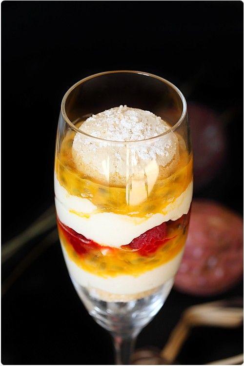 recette tiramisu framboise fruit de la passion