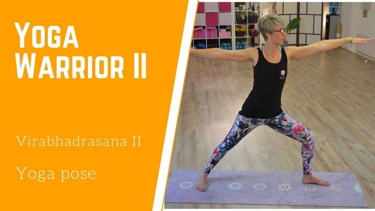 cool (Elite Pilates & Yoga) Hatha Yoga session for newbies - Warrior 2 Pose #pilatescourses