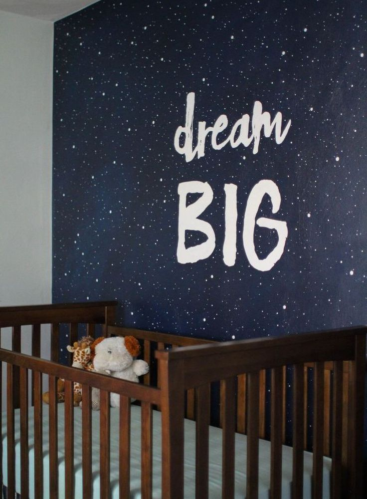 painting a starry sky mural, bedroom ideas, painting
