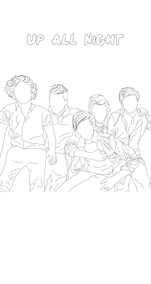 Up All Night One Direction Para Colorear No Olvides Seguirme Para Pines Iguales Dibujos De One Direction Fondo De Pantalla De One Direction Dibujos Abstractos