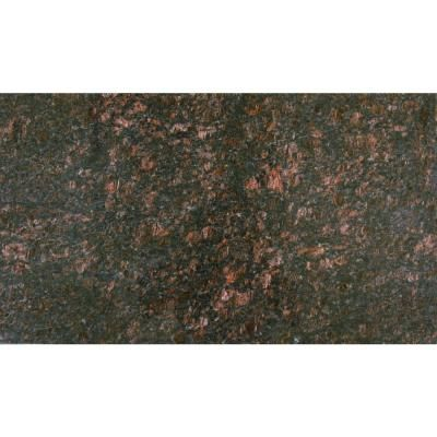 Ms International Tan Brown 18 In X 31 In Polished Granite Floor And Wall Tile 7 75 Sq Ft Case Granite Flooring Travertine Wall Tiles Floor And Wall Tile