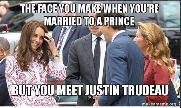 Image result for Trudeau Meme