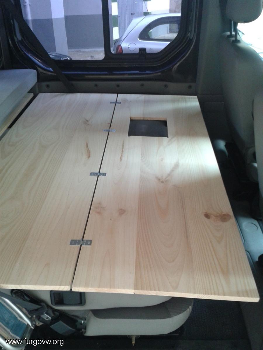 cama sencilla para opel vivaro camper idees pinterest amenagement van camion amenager et. Black Bedroom Furniture Sets. Home Design Ideas