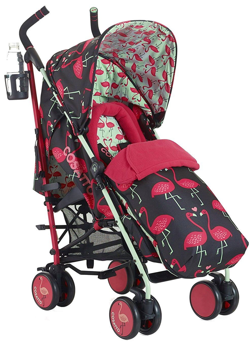 Baby Pram Umbrella Supa Stroller Flamingo Fling Strollers Umbrella