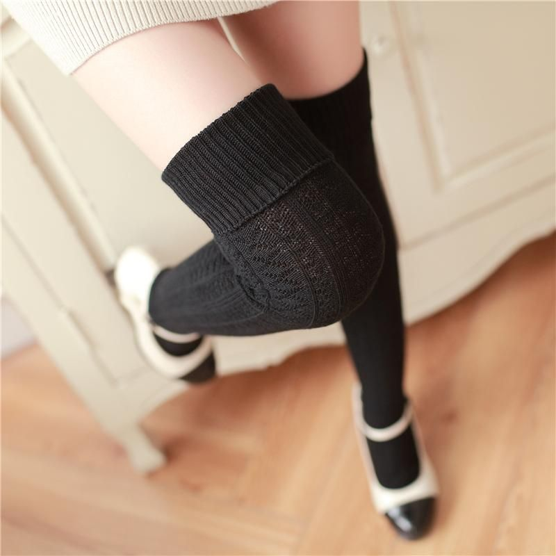 3df60b4aded Cute thick stockings over knee socks YV2492