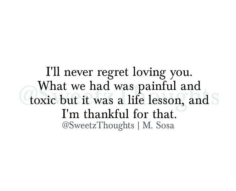 "Love Regret Quotes Images: ""I'll Never Regret Loving You..."""
