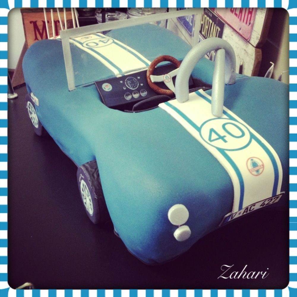 Ac Shelby cobra car made and designed by Dina from zahari Mooi