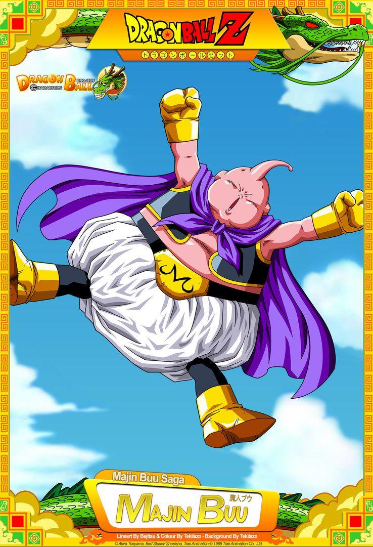 Dragon Ball Z Majin Buu By Dbcproject On Deviantart Fotos Goku