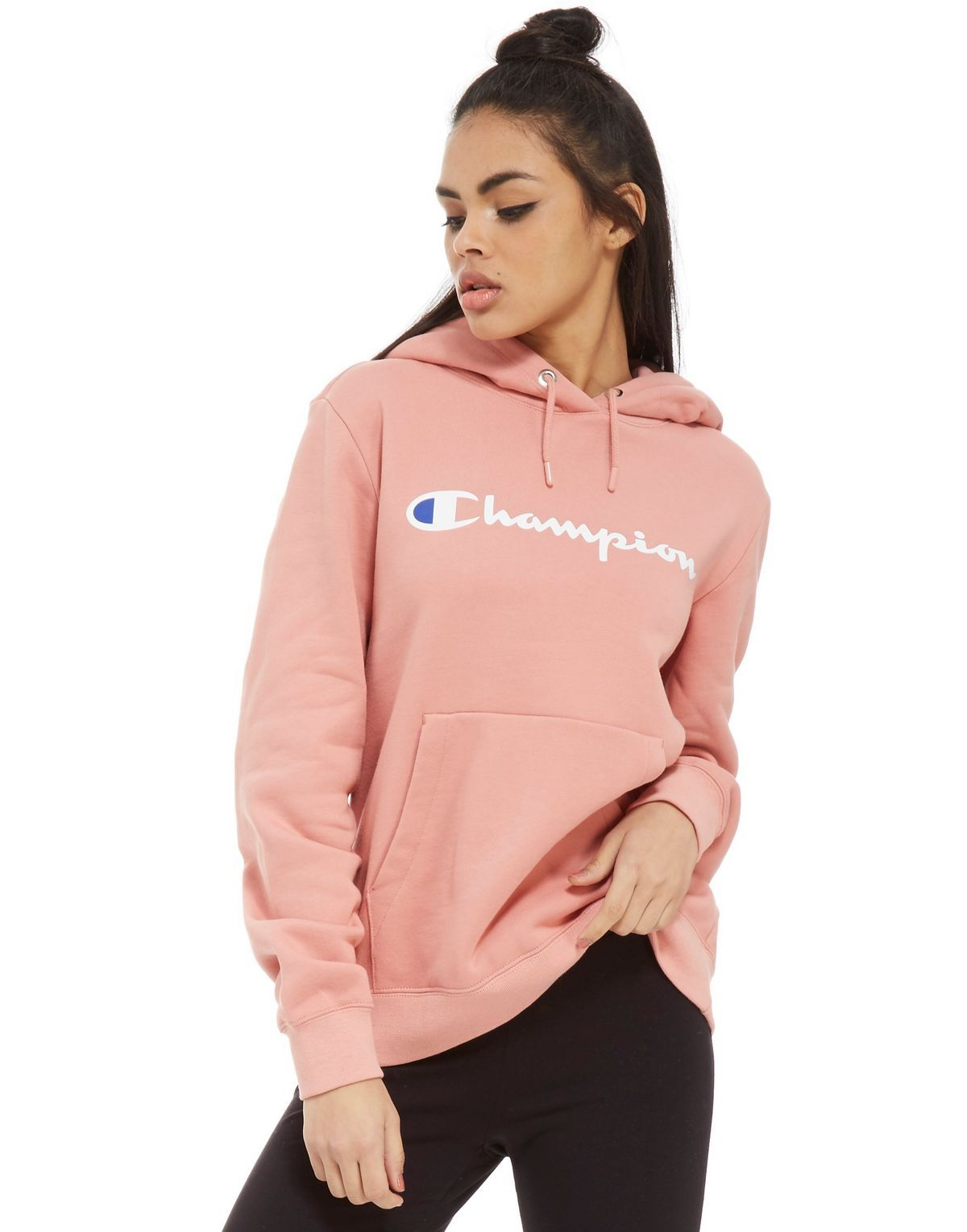 Champion Boyfriend Hoodie   JD Sports    giftryapp   Outfit in 2019 ... 02b7acdc10f3