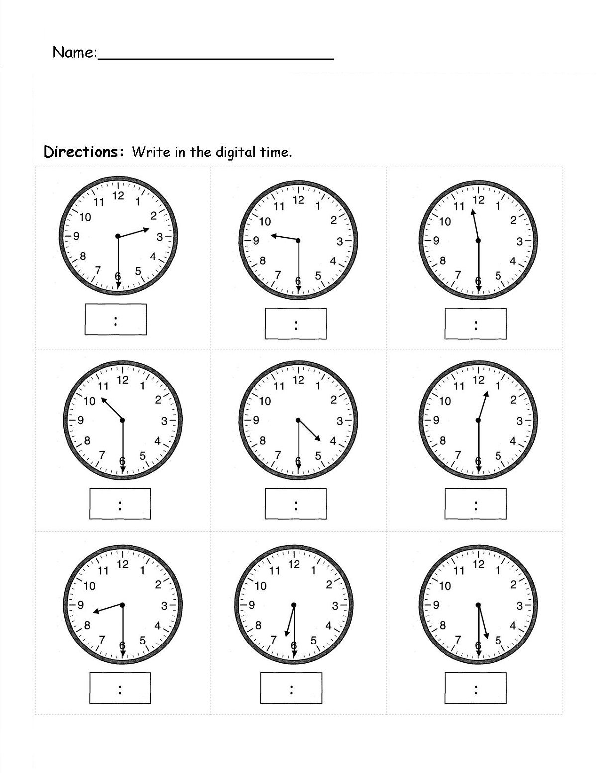 Easy Elapsed Time Worksheets Simple In
