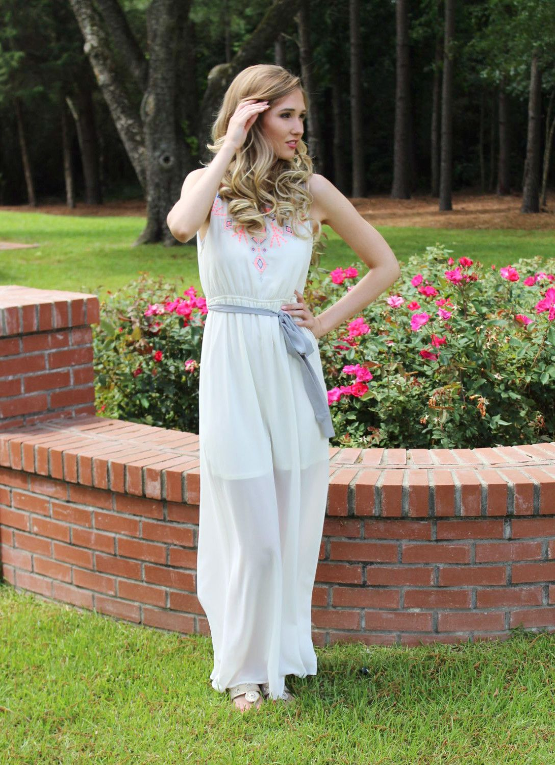 These new maxi dresses are the perfect transition from cool summer mornings to hot summer nights, come get yours today!