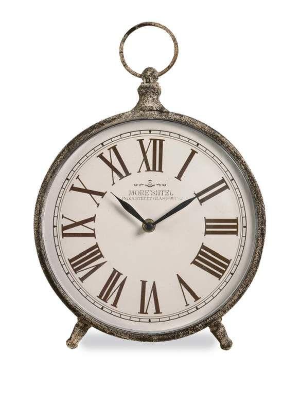 IMAX Home 97112 Norida Desk Clock Home Decor Clocks Desk Clocks