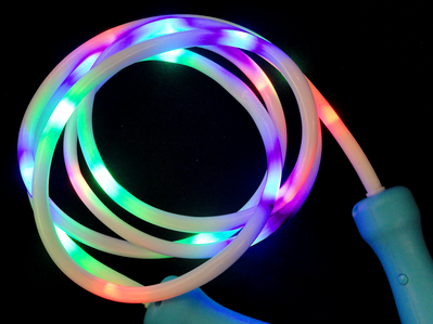"Light Up Jump Rope 100"" Light Up Led Jump Rope Club Toy  Toy"