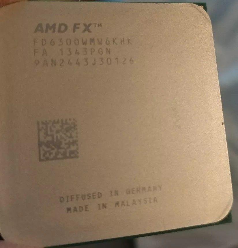 Amd Fx 6300 3 5 Ghz Six Core Processor Fd6300wmw6khk Socket Am3 Cpu
