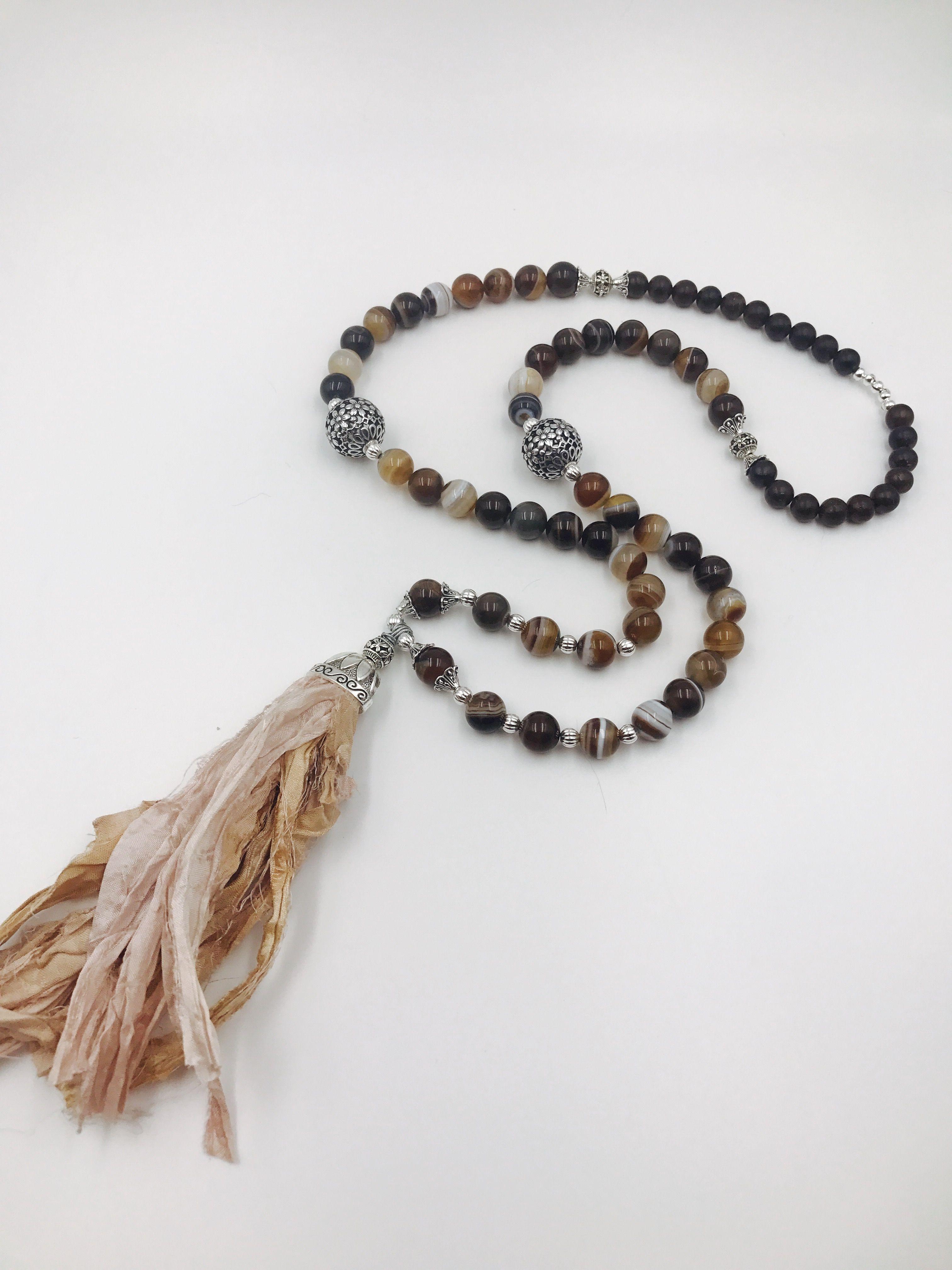 36312489e5ac9 BoHo Sari Silk Tassel Necklace 30