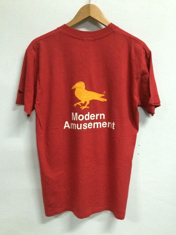 79f483762e6 Vintage MODERN AMUSEMENT t shirt | To Buy - Casual | Shirts, Vintage ...