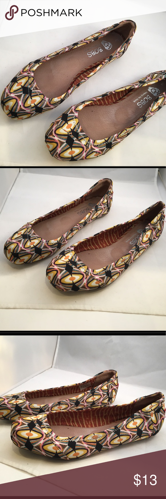 cc7358443b7 Bobs Ballet Flats, modern geometrical 9 In excellent condition are ...