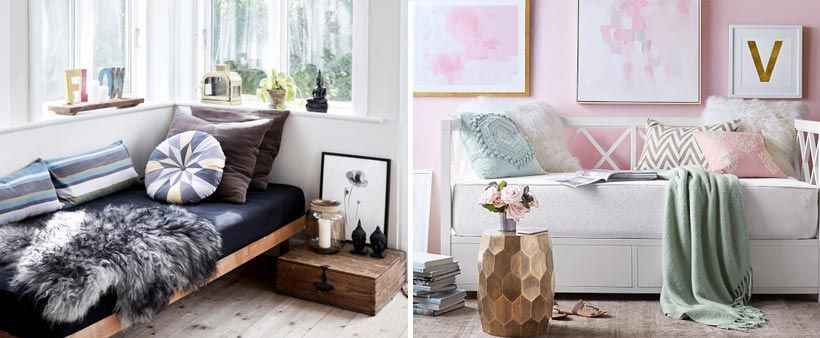 Best How To Turn A Regular Bed Into A Daybed Sofa Styling 400 x 300