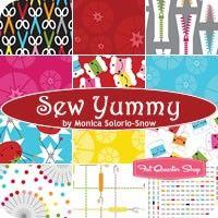 Sew Yummy Fat Quarter BundleMonica Solorio-Snow for Cloud9 Fabrics