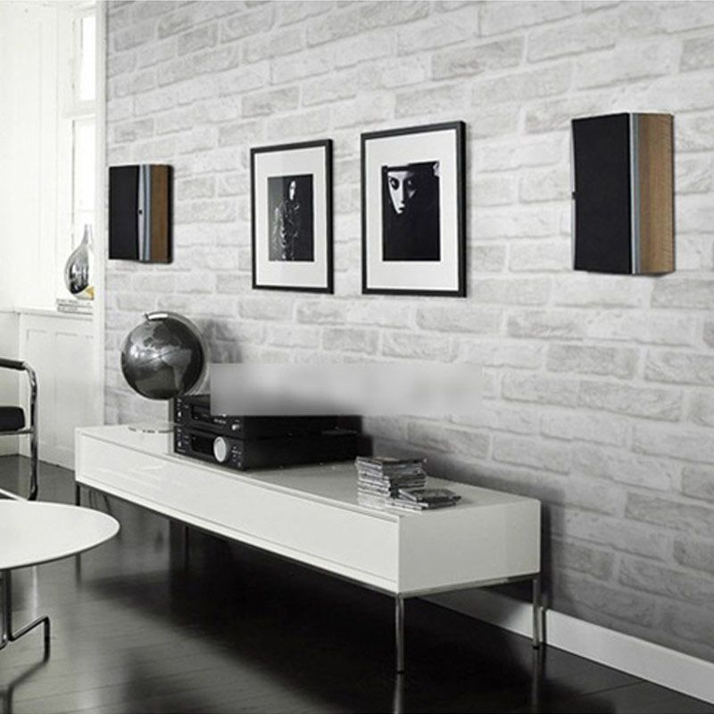 Modern Deep Embossed 3D Brick Wall Paper Vintage Stone Pattern Wallpaper Roll For Living