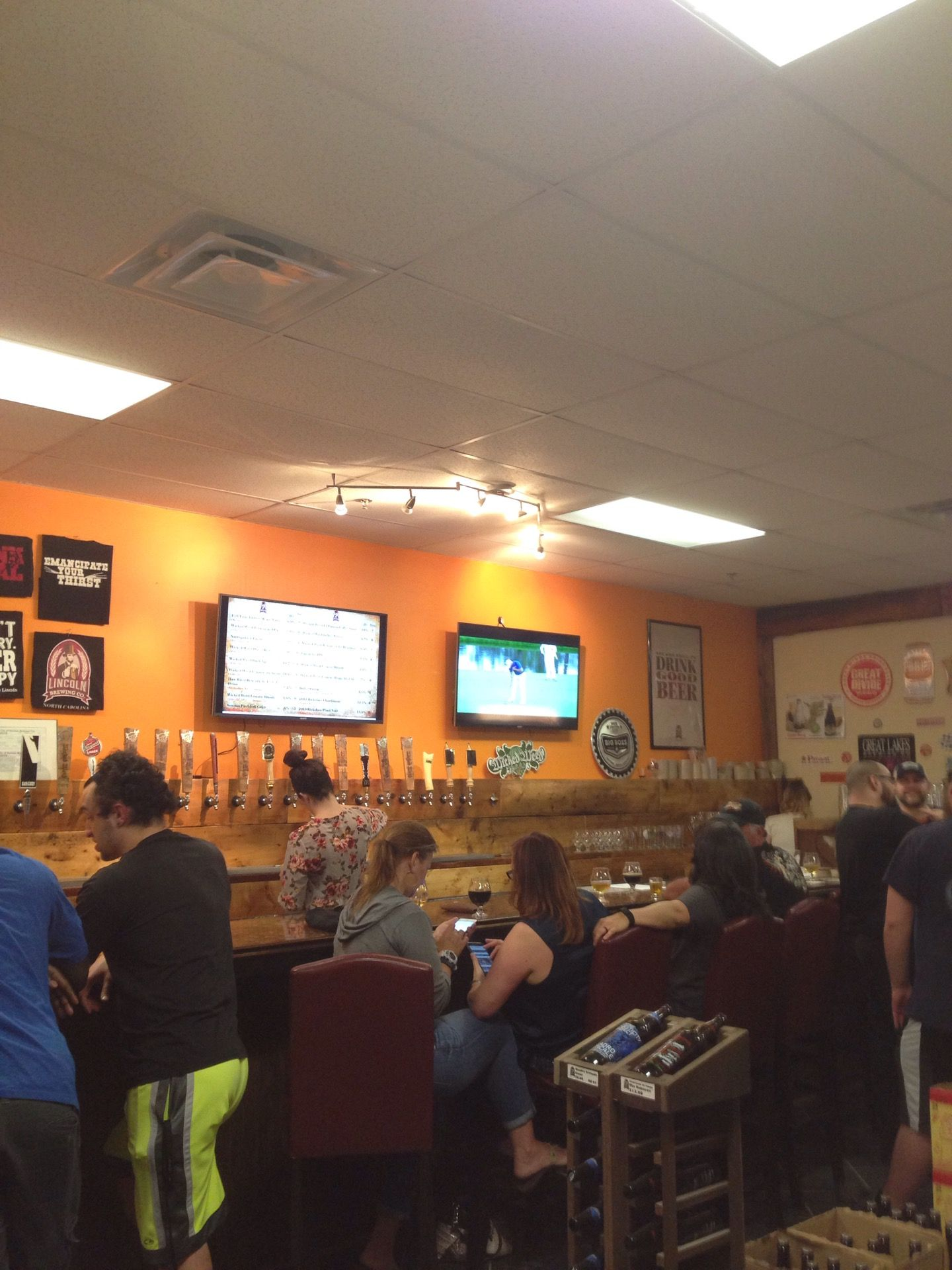 Lincoln Brewing Co At Brier Creek In Durham Nc Around Our