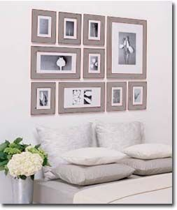 Wall Photo Frames Collage in this case, all your frames are contained within a simple