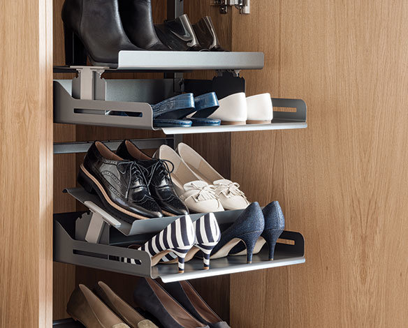Wysuwane Wklady I Szuflady Na Buty Systemy Do Garderoby Peka Living Room Units Shoe Rack Main Bedroom
