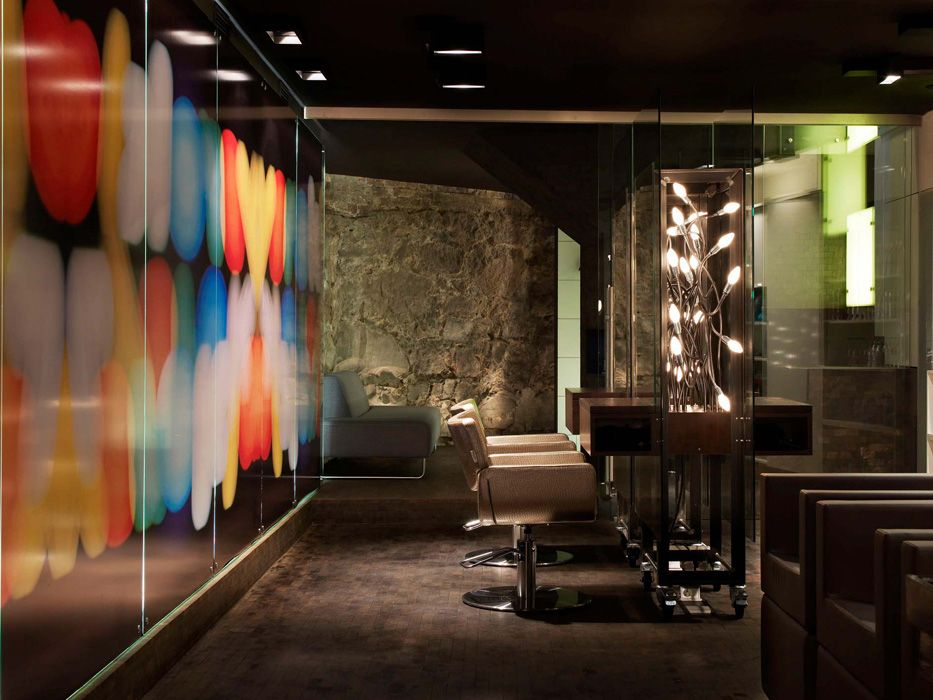 #Architecture #Design #Interior #interiordesign #Shop #shopdesign #hairsaloon #hair #Oslo #HaraldLode