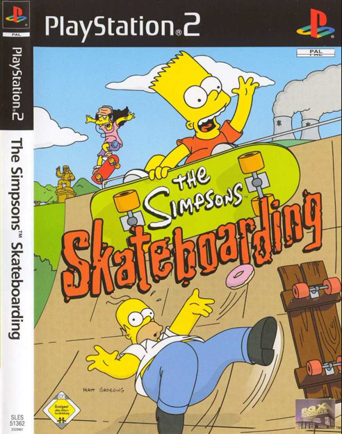 The Simpsons Skateboarding PS2 ISO Free DownloadFree