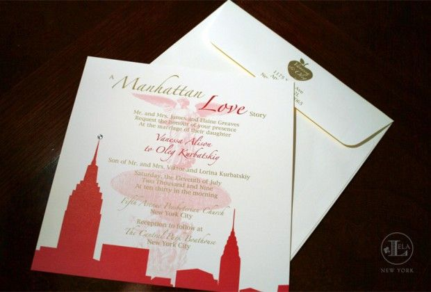 Wedding Invitations Nyc – Custom Wedding Invitations Nyc