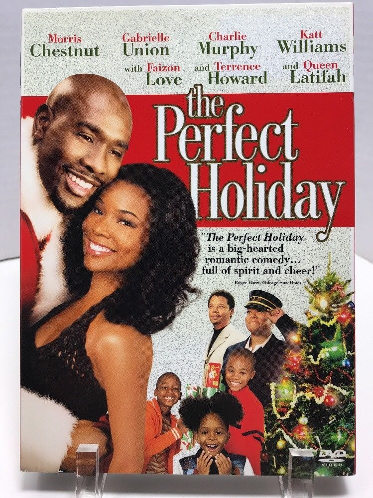 The Perfect Holiday Dvd 2008 Christmas Morris Chestnut Slipcover Widescreen Holiday Movie Best Christmas Movies Black Christmas Movies