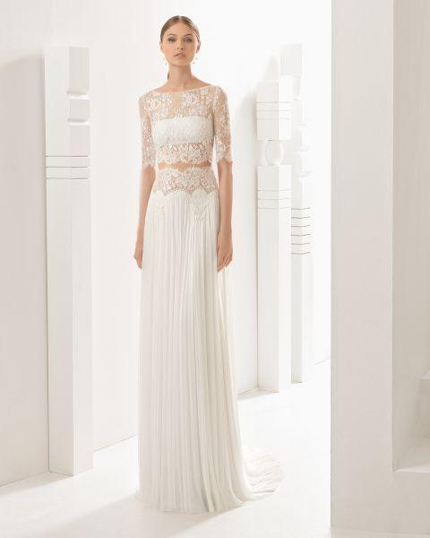 b695a7d746 Vestidos de novia plisados  Lo último para tu boda Image  4 ...