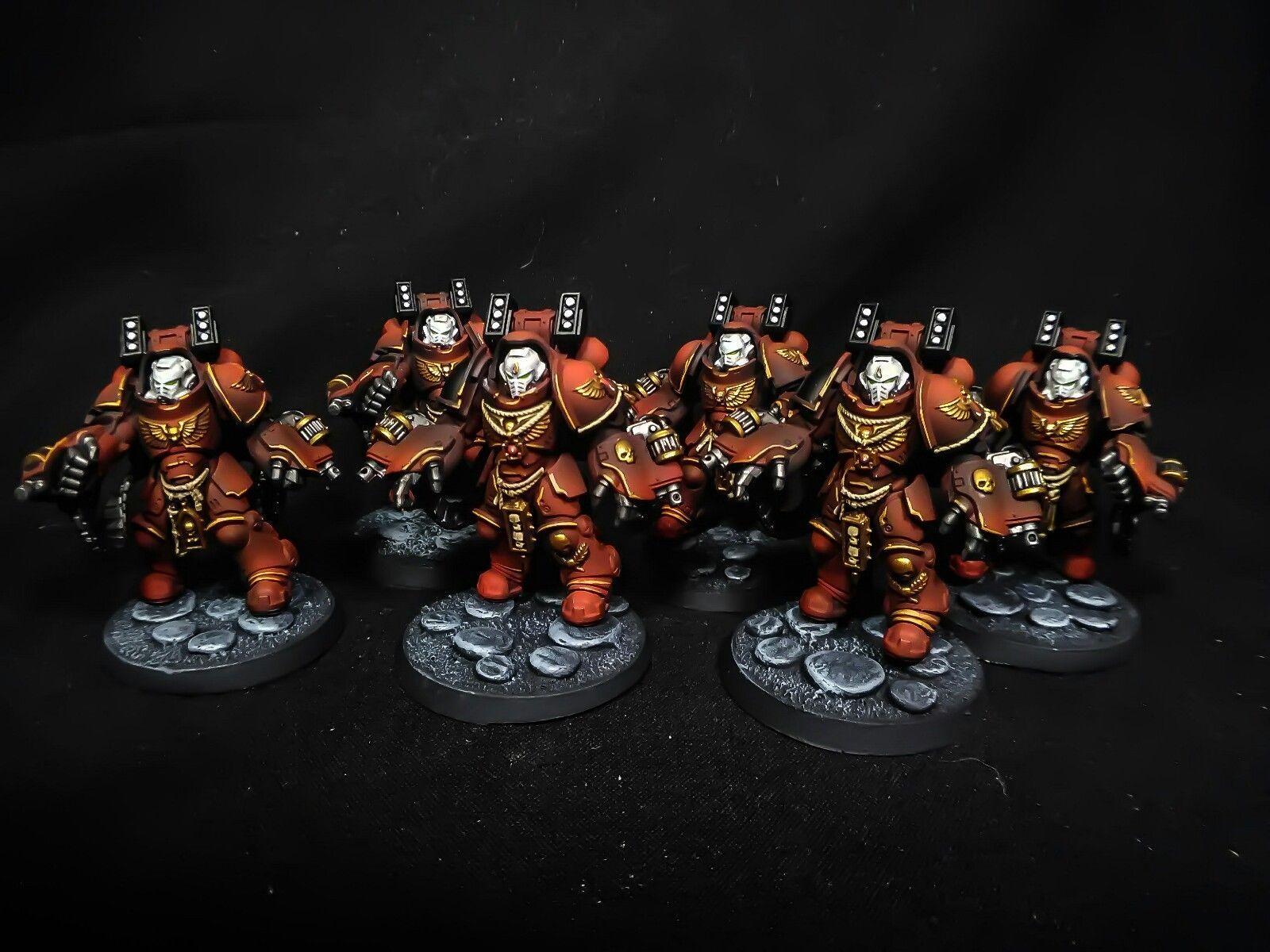 Details about Warhammer 40k Blood Angels Sternguard Veteran