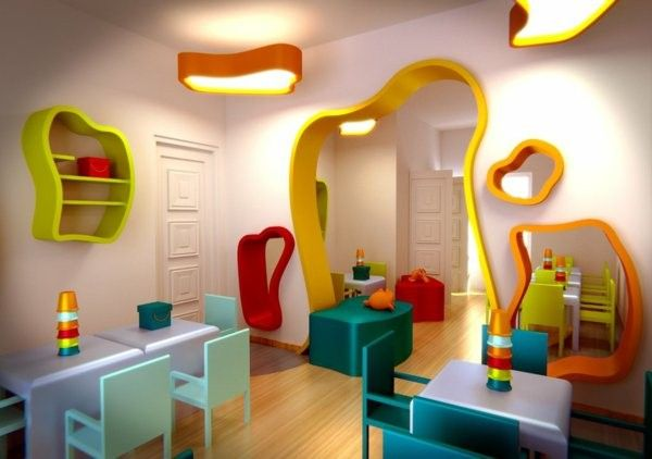 Modern Kindergarten Classroom Furniture ~ Modern ideas for kindergarten interior decor