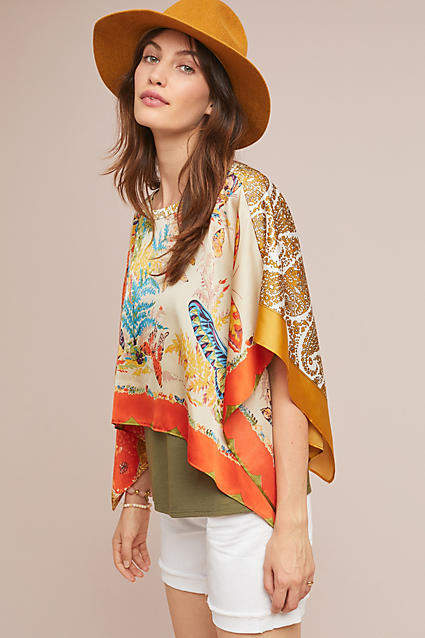 a7823156dd30 Tiny Chantel Scarf-Printed Top #ad #AnthroFave #AnthroRegistry Anthropologie  #Anthropologie #musthave #styleinspiration #newarrivals #ootd