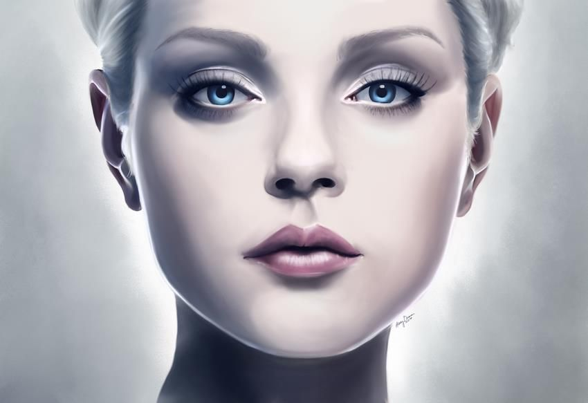 """jessica stam """"Ice"""" by Ashley Quenan"""