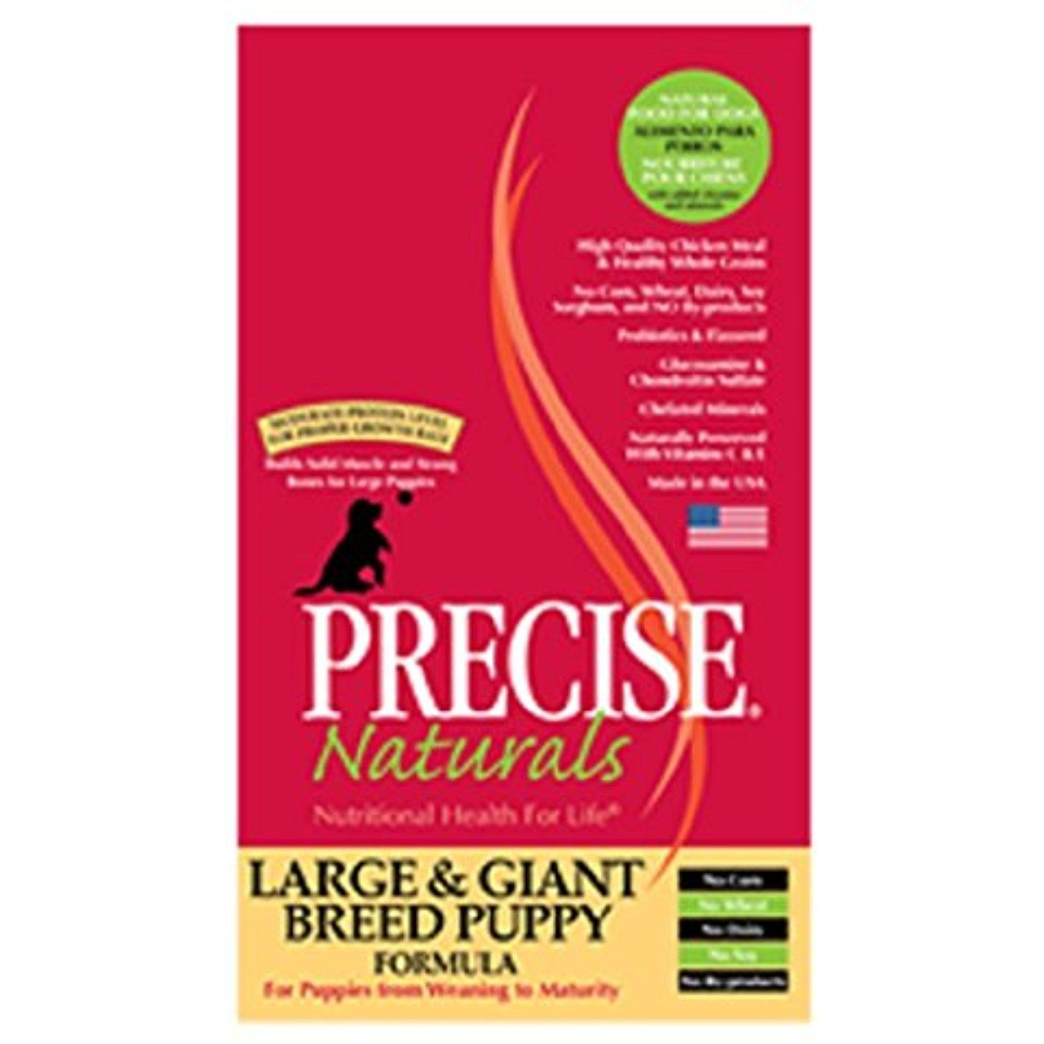 Precise Pet Large Giant 30 Lb Breed Puppy Dry Food One Size