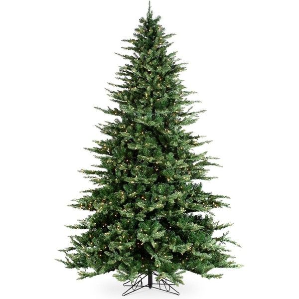 Sterling 9 Pre Lit Highland Pine Christmas Tree Best Artificial Christmas Trees Cool Christmas Trees Pine Christmas Tree
